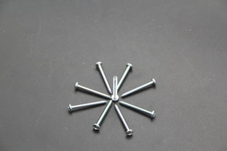 Stainless Steel Pan Head Self Tapping Screws DIN 7981 For High Speed Rail